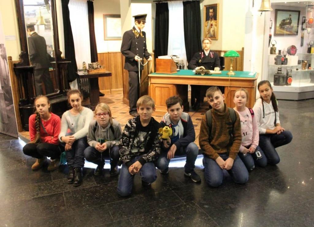 Ученики школы № 920 открыли для себя много нового, посещая музеи Москвы