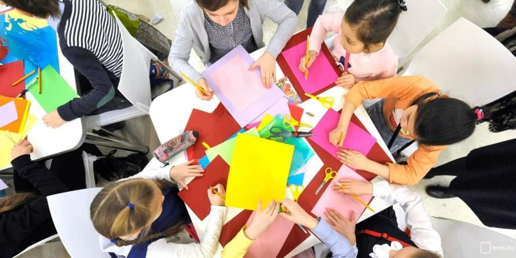 Творческий мастер-класс провели в Перове